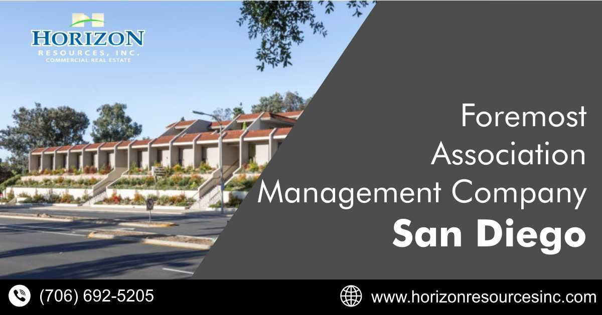 Foremost Association Management Company San Diego Ca Horizon Resources Inc In 2020 Association Management San Diego Property Management