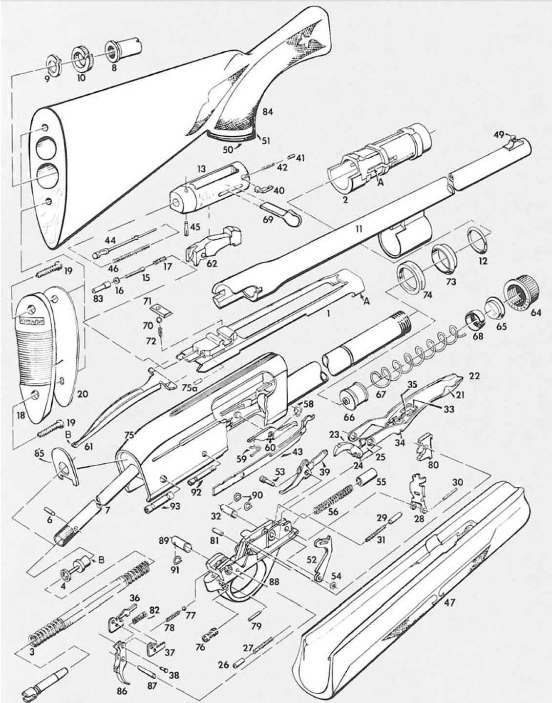 remington 11 87 premier parts diagram