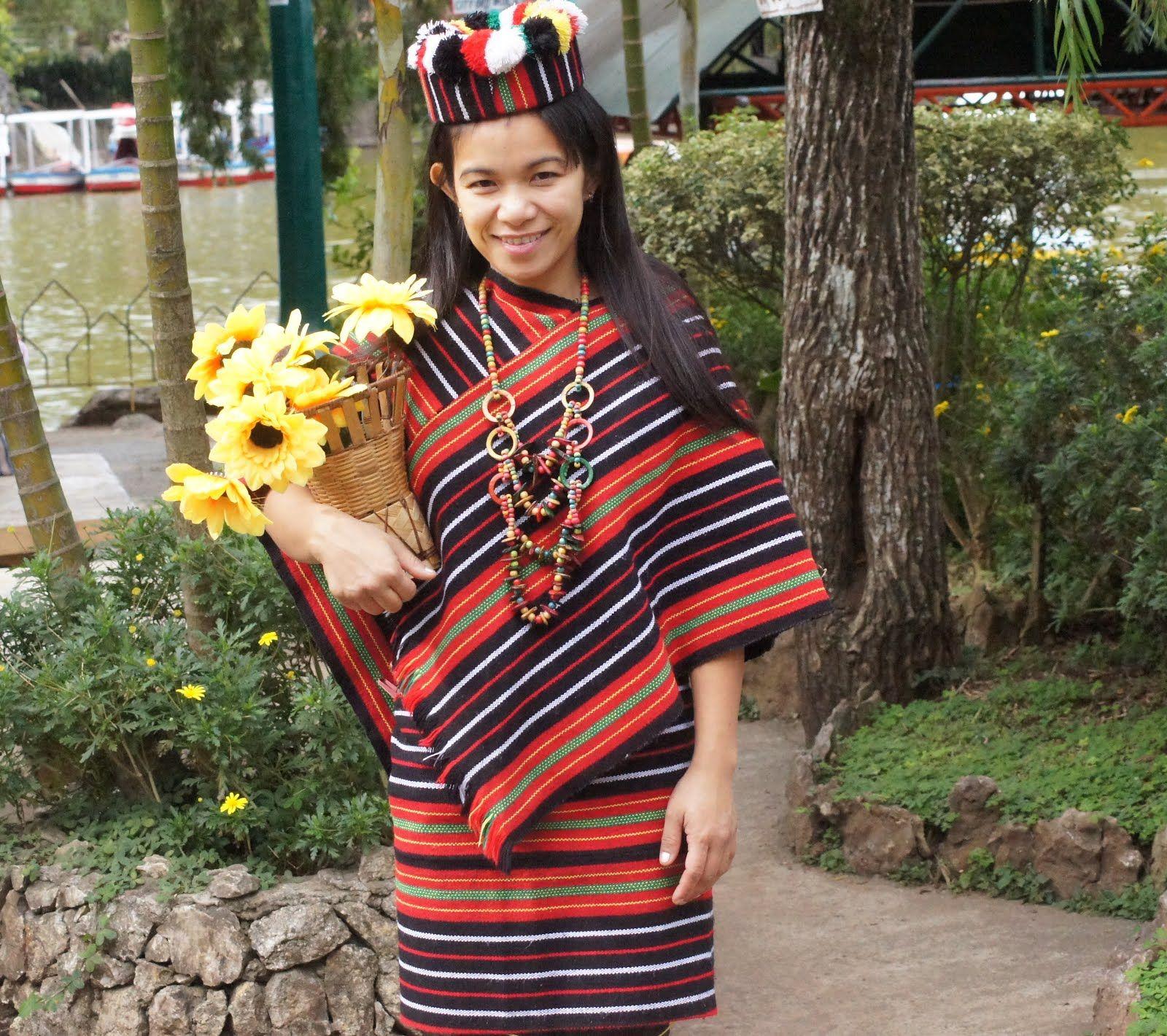 Igorot Woman in Her Native Costume Z Filipiniana dress