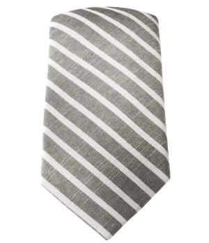 67f36d1069ba Walkover Stripe - Army Green (Cotton Skinny) | Ties, Bow Ties, and Pocket  Squares | The Tie Bar