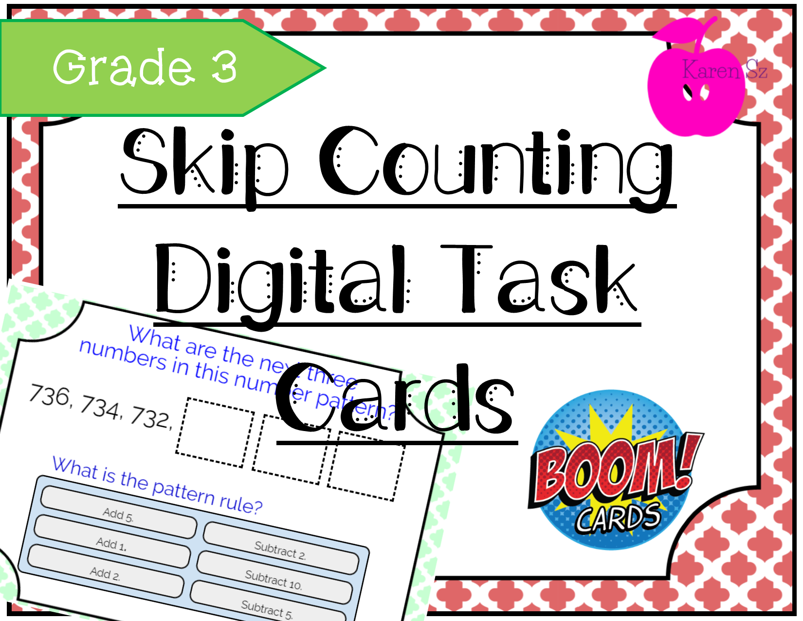 Skip Counting Amp Number Pattern Grade 3