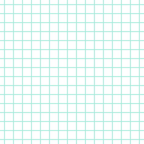 Square Grid - Mint fabric by kimsa on Spoonflower - custom fabric