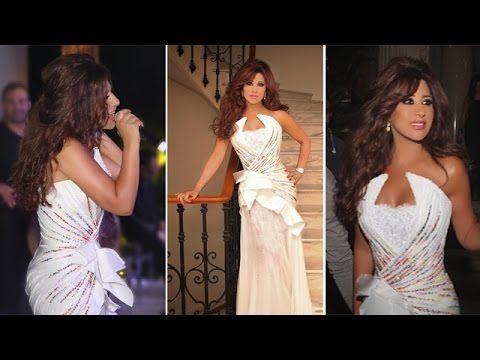 نجوى كرم ترتدي فستان ابيض خيالي في مهرجان كان Najwa Karam In Cannes 2015 Formal Dresses Prom Dresses Dresses