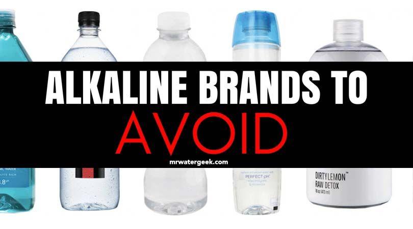 Avoid Plastic Poisoning Check Bottled Water For Bpa Alkaline Water Brands Alkaline Water Water Branding