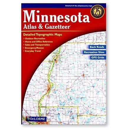 DeLorme Minnesota Atlas and Gazetteer - 3rd Edition Media