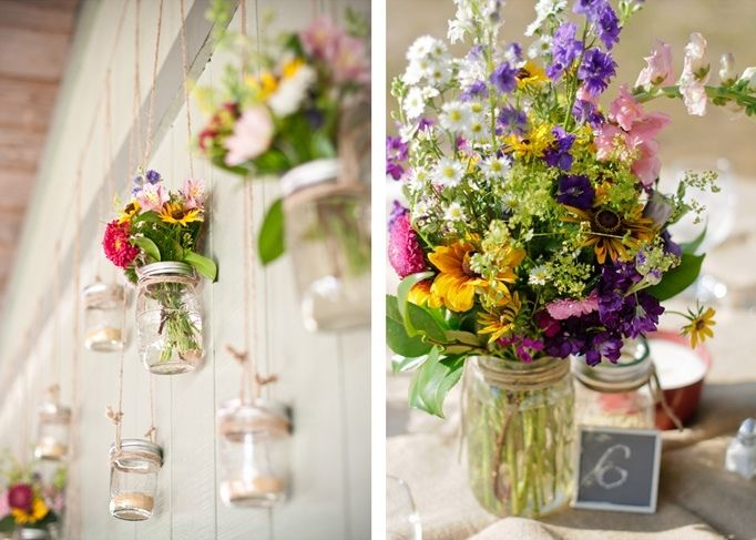 Wye Island Wildflower Wedding By Kirsten Marie Photography Wildflowers For
