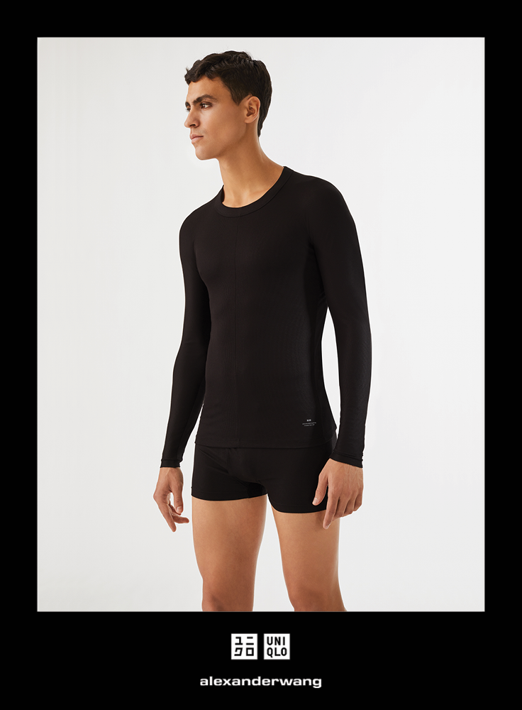 77ce5cd5f Bio-warming, insulating, moisture-wicking, and moisturizing comfort  features. Stylish design can be worn as an undershirt or a t-shirt.