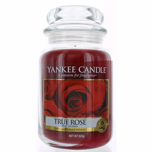 "Yankee Candle /""True Rose/"" Large Jar 22oz"