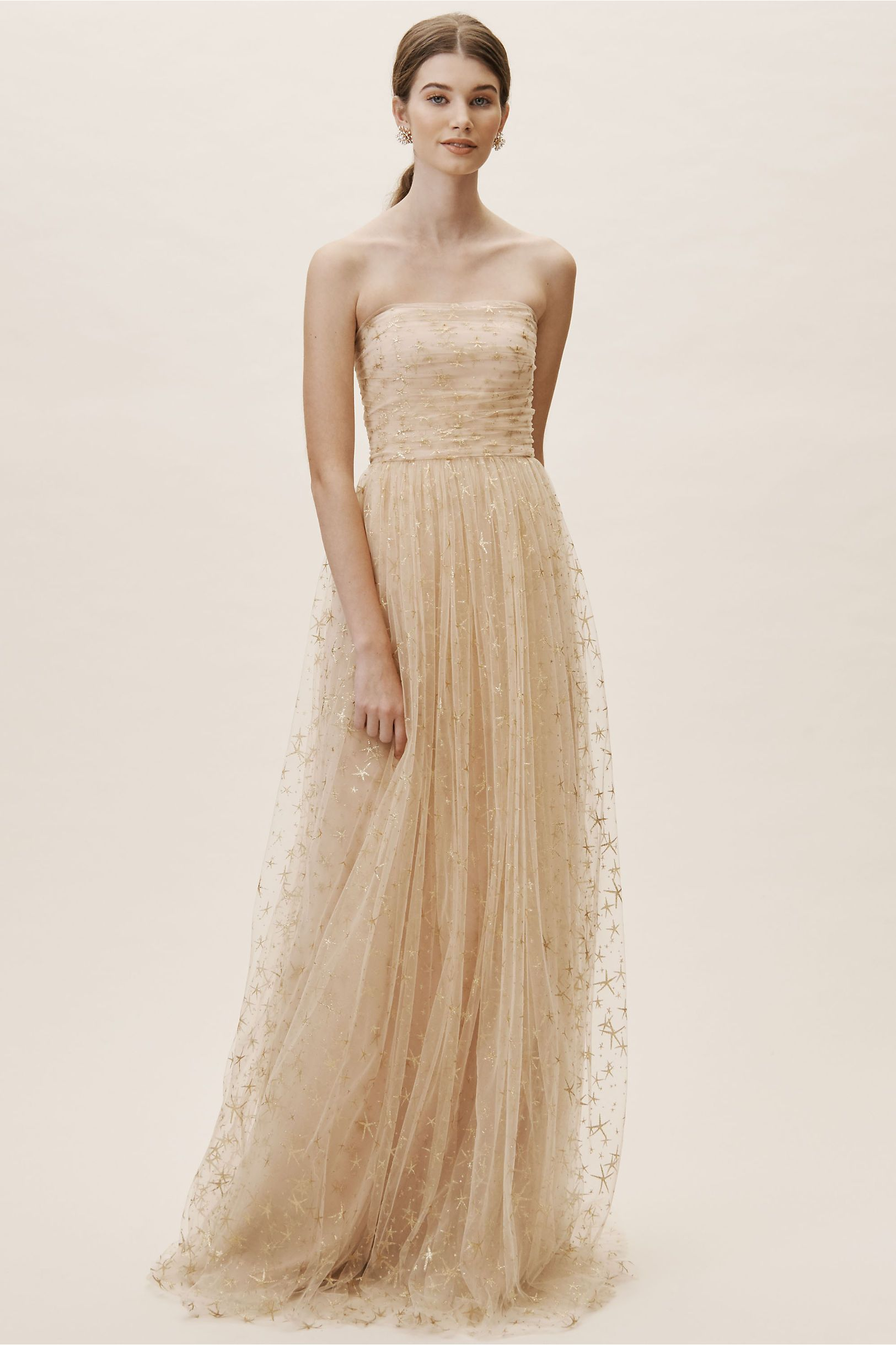696c89a1f79a Brenda Dress Champagne in Occasion Dresses | BHLDN | Mother of the ...