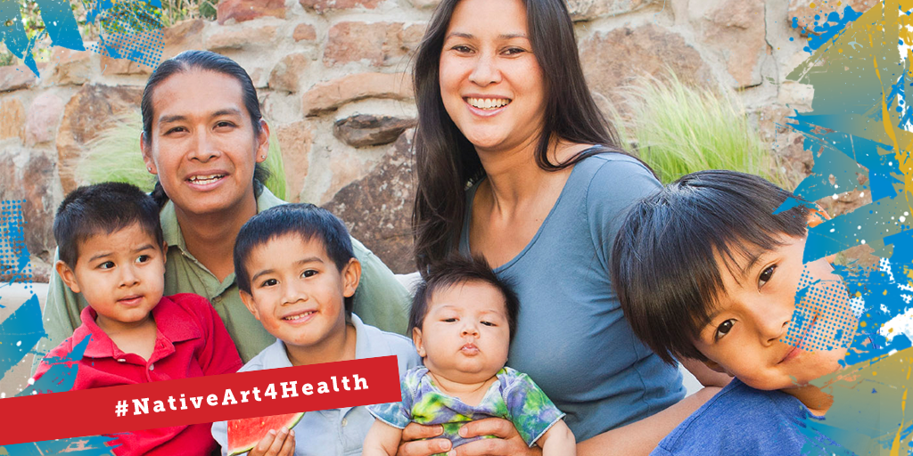 NativeArt4Health Health care coverage, American indians