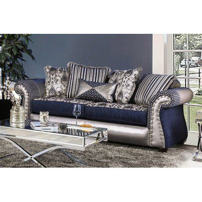 Best Astoria Grand Ridgley Sofa Silver Sofa Furniture Sofa 400 x 300
