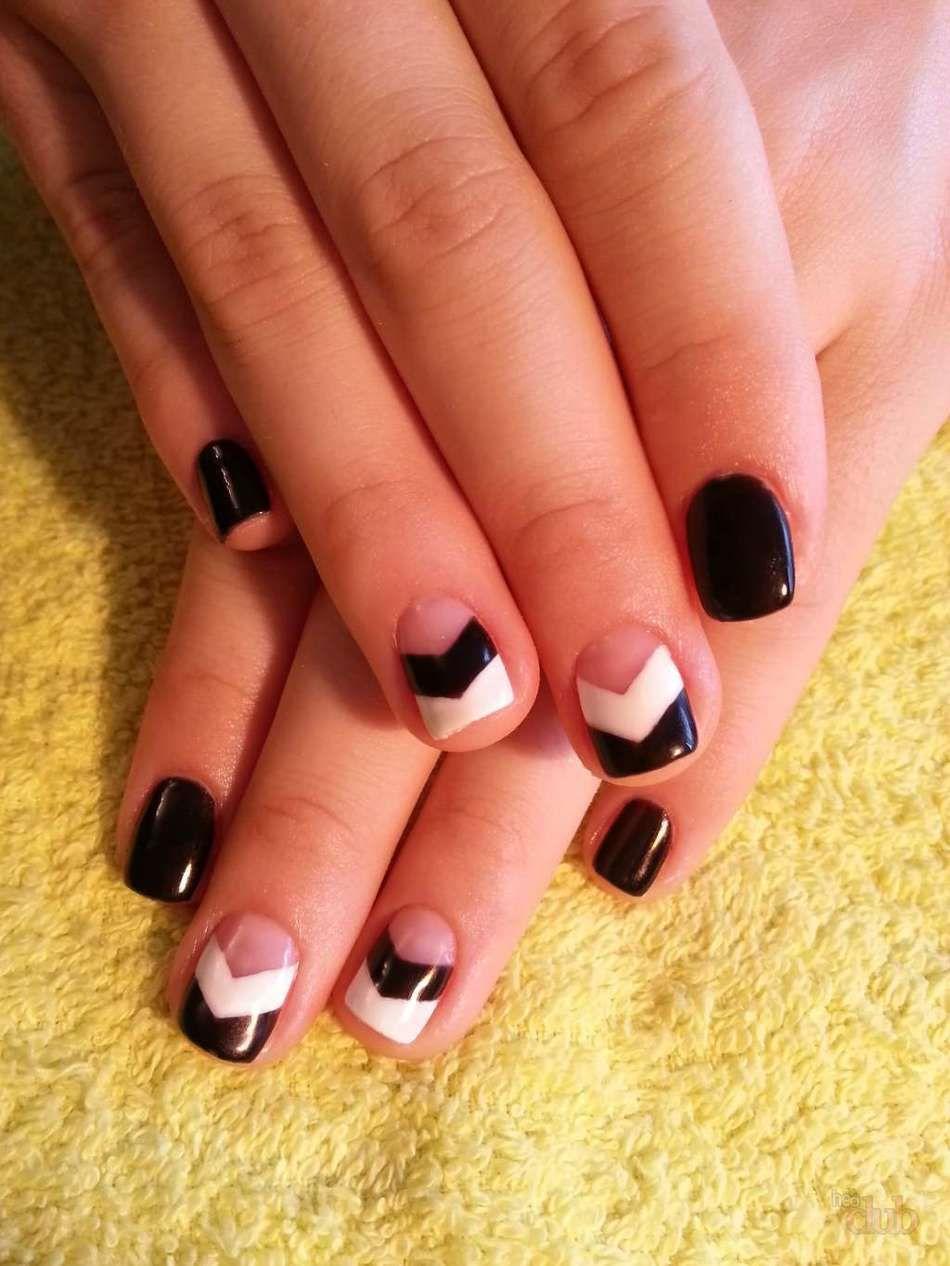 чему картинки дизайна коротких ногтей шеллак создания шаблона следует