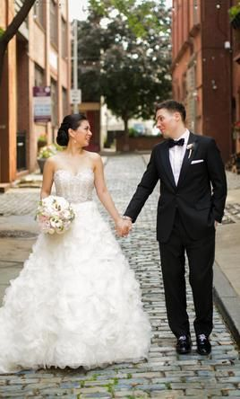 Pin by PreOwned WeddingDresses.com on Lazaro Real Weddings ...