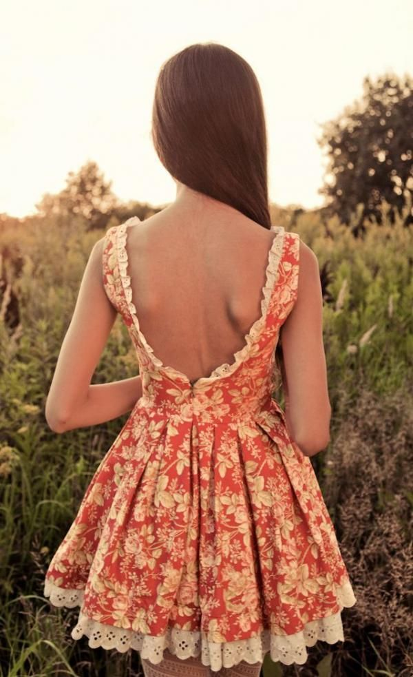 Country summer dress