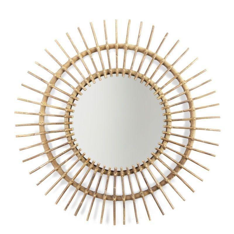 Childhome Rattan Mirror Aura (90cm)