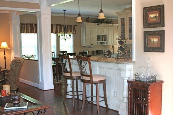 Turn My Half Wall Into A Breakfast Bar Kitchen Ideas