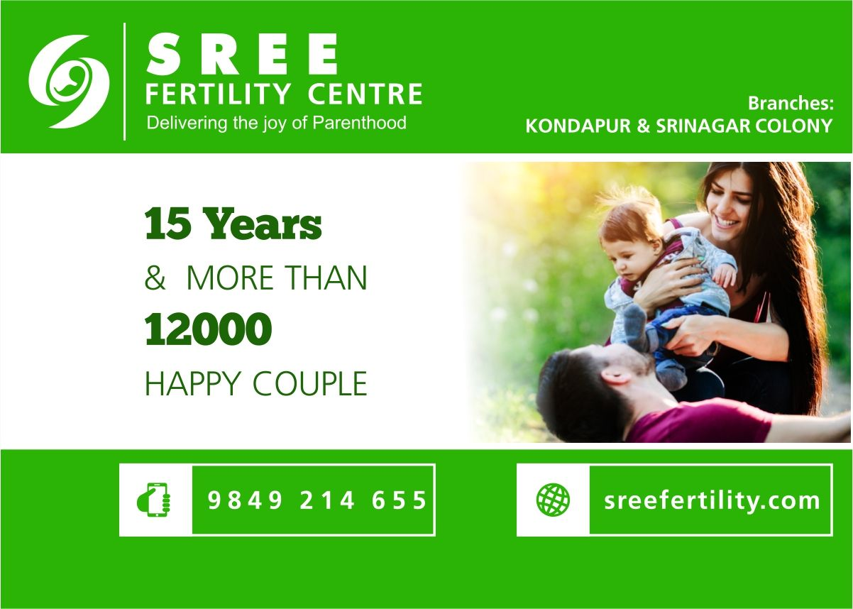 Sree Fertility Centre in Hyderabad aims to provide quality Fertility treatment and guidance through dedicated fertility Specialists Team