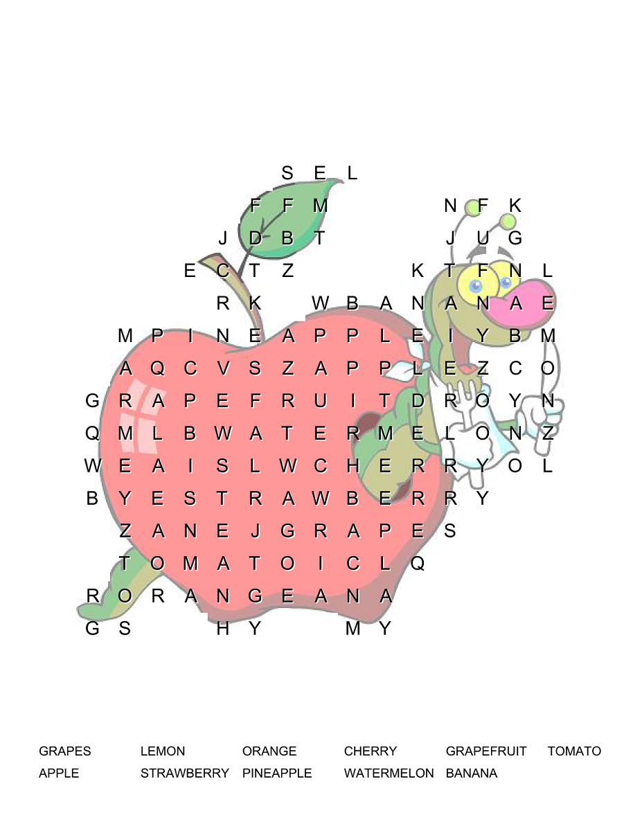 Word search for kids free printable kiddo shelter educative word search for kids free printable kiddo shelter robcynllc Image collections