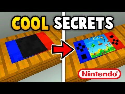 MINECRAFT 5 CRAZY SECRET THINGS YOU CAN MAKE (Ps3/Xbox360