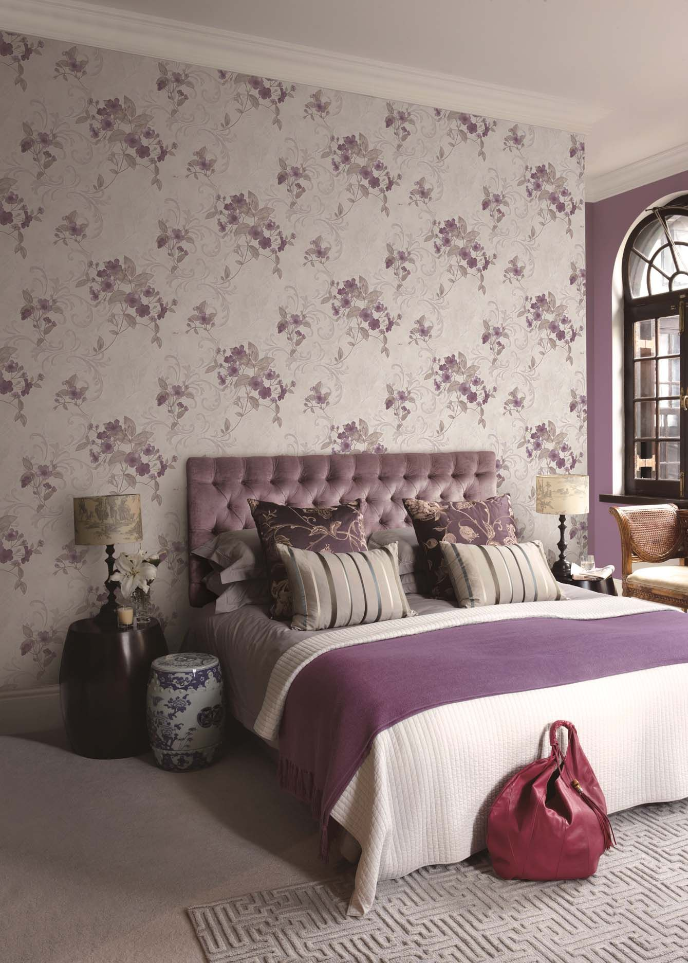 Floral Wallpaper For Walls 77109 3 Bedroom Design Wallp