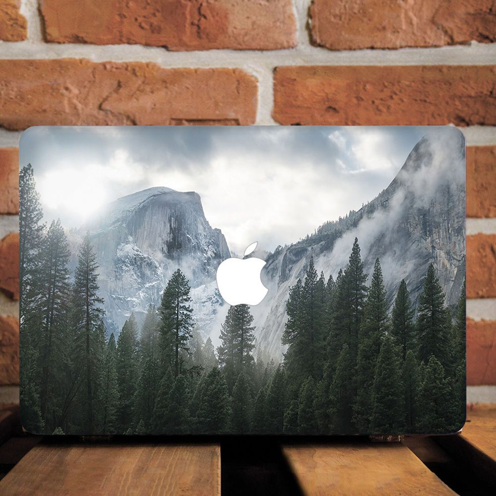 quality design 93a06 fc4c9 Details about Yosemite Mountains Nature Hard Cover Case For Macbook ...