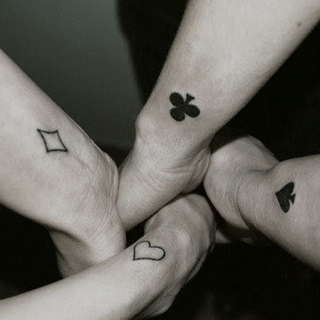 like this idea for friendship tattoos and theres 4 anna totten riddlehoover yazmin wickham. Black Bedroom Furniture Sets. Home Design Ideas