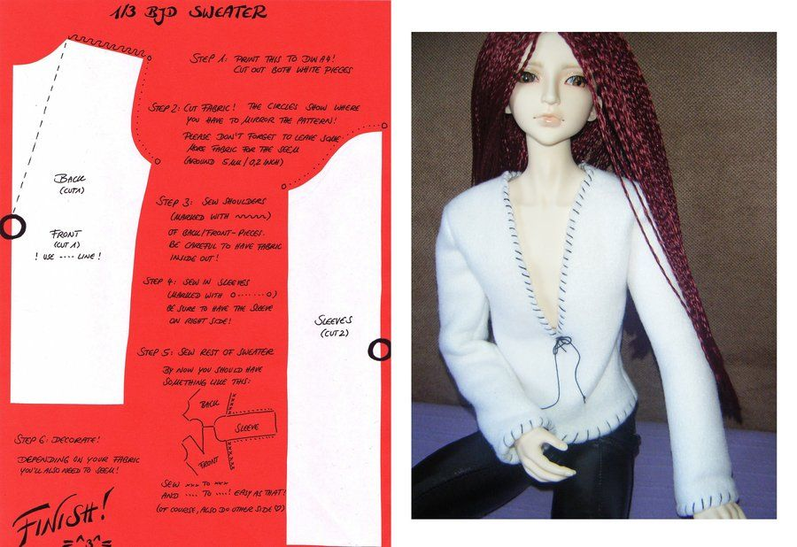 Pin On Barbie Sewing Patterns