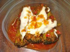 Brócoli en salsa de tomate