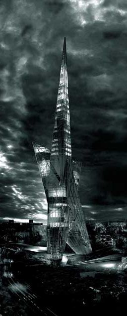 Taiwan Tower Conceptual Design Competition, Taichung, China designed by OODA + OOIIO :: height 300m, merit award ☮k☮ #architecture