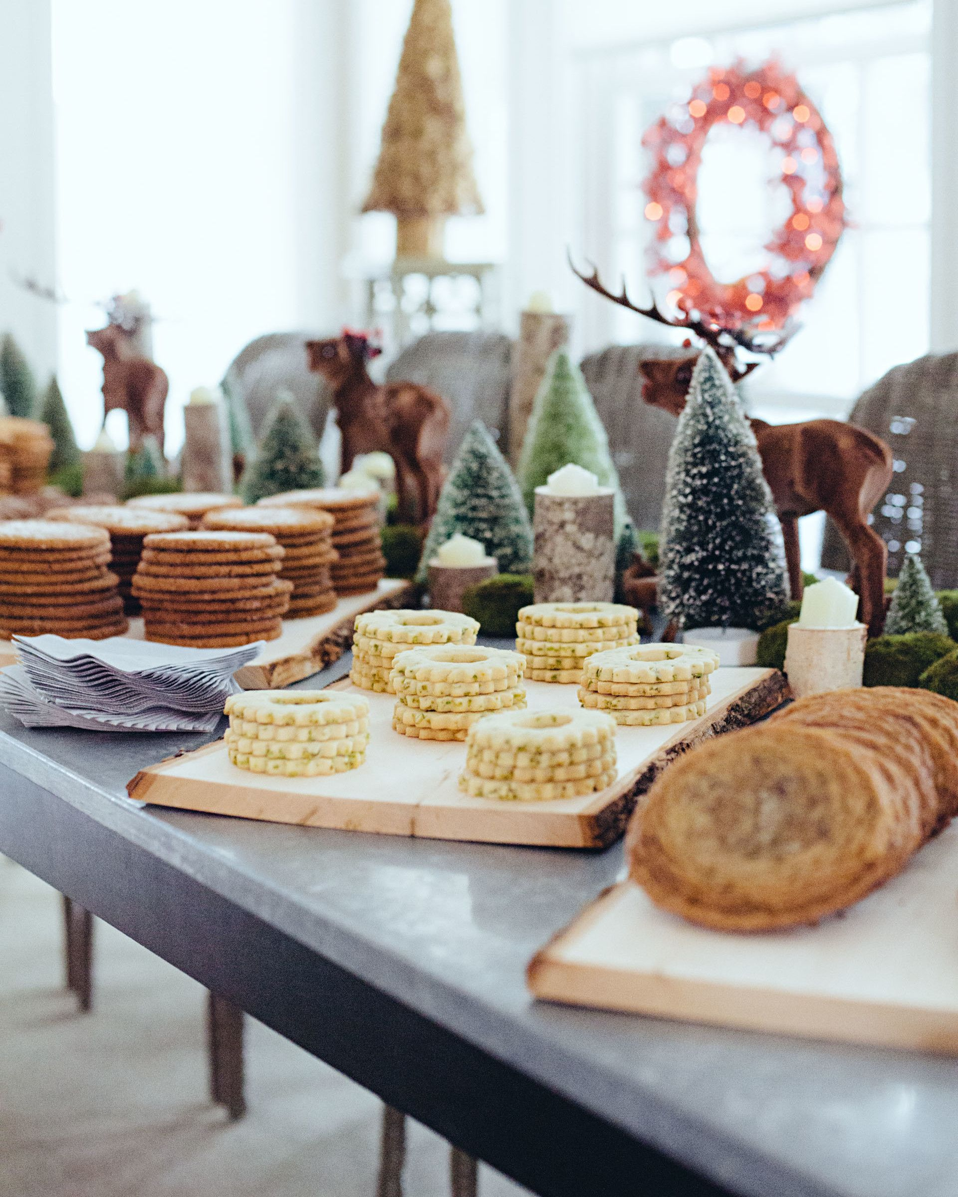Come To Martha S Christmas Party Christmas Cookie Party Holiday Cookies Brown Butter Cookies