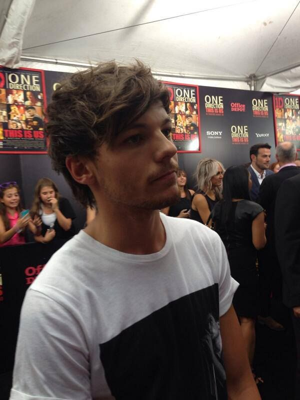 Louis Tomlinson - This is us premiere NY