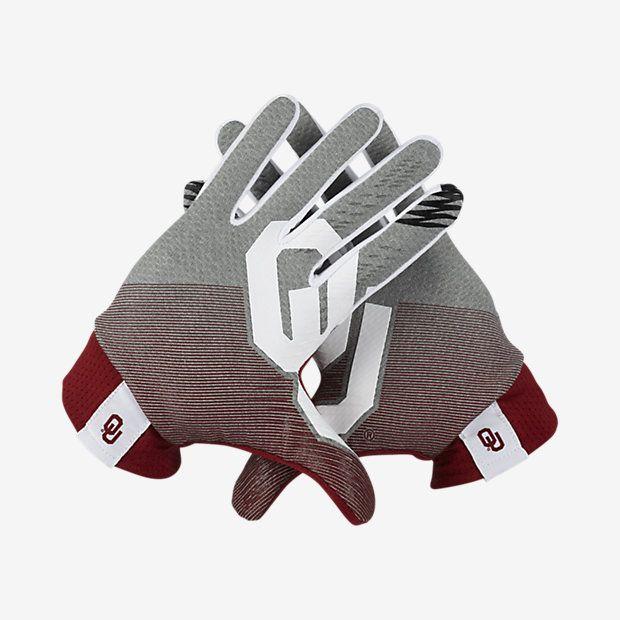 Nike Stadium Oklahoma Football Gloves Football Gloves Oklahoma Football Gloves