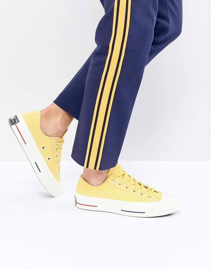 Converse Chuck Taylor All Star 70 Low Sneakers In Yellow  eea1ebbe7