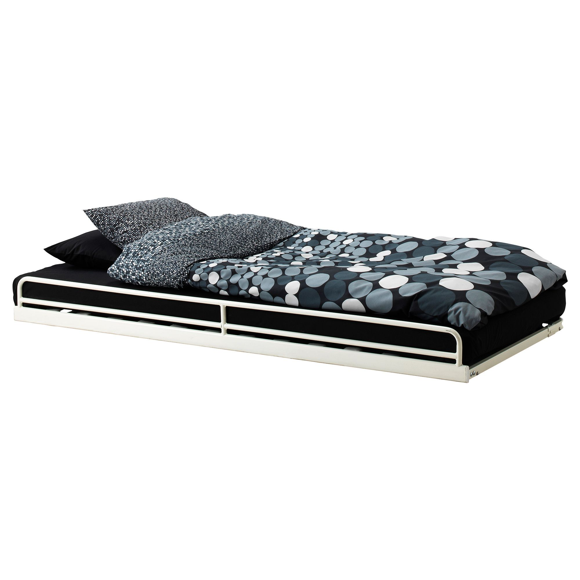 TROMSÖ Pull-out bed - IKEA : slide under our bed for storage. nice ...