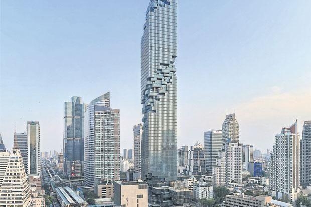 Lightshow At Bangkoks New Tallest Building Bangkok Post Learning