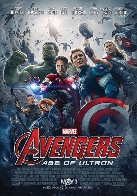 Avengers Age Of Ultron 2015 Bluray 300mb Hindi Dual Audio 480p