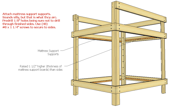 How To Build Twin Over Queen Bunk Bed Plans Pdf Woodworking Plans