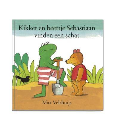 boekje met eigen naam - Kikker en Beertje vinden een schat - HEMA