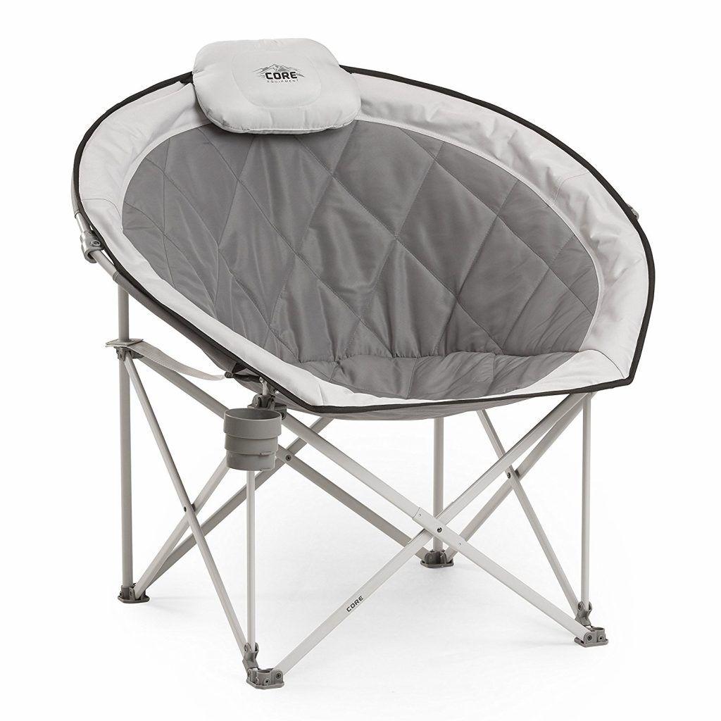 Core Equipment Folding Oversized Padded Moon Round Saucer