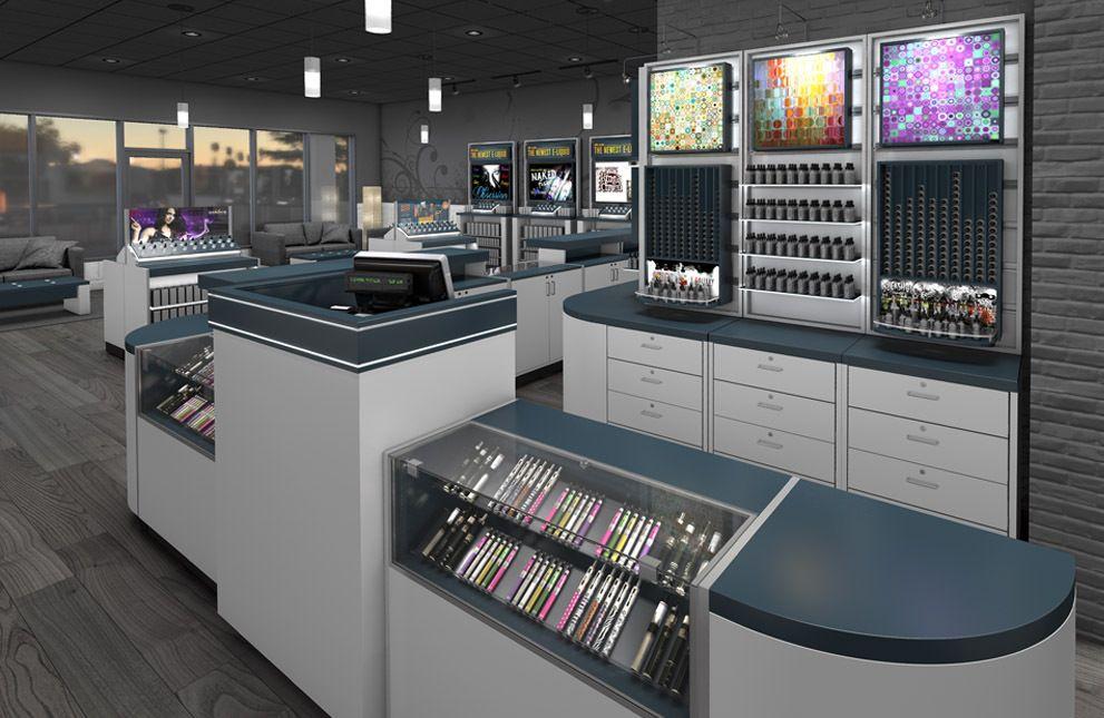Vape store fixtures vapor store displays Store fixtures