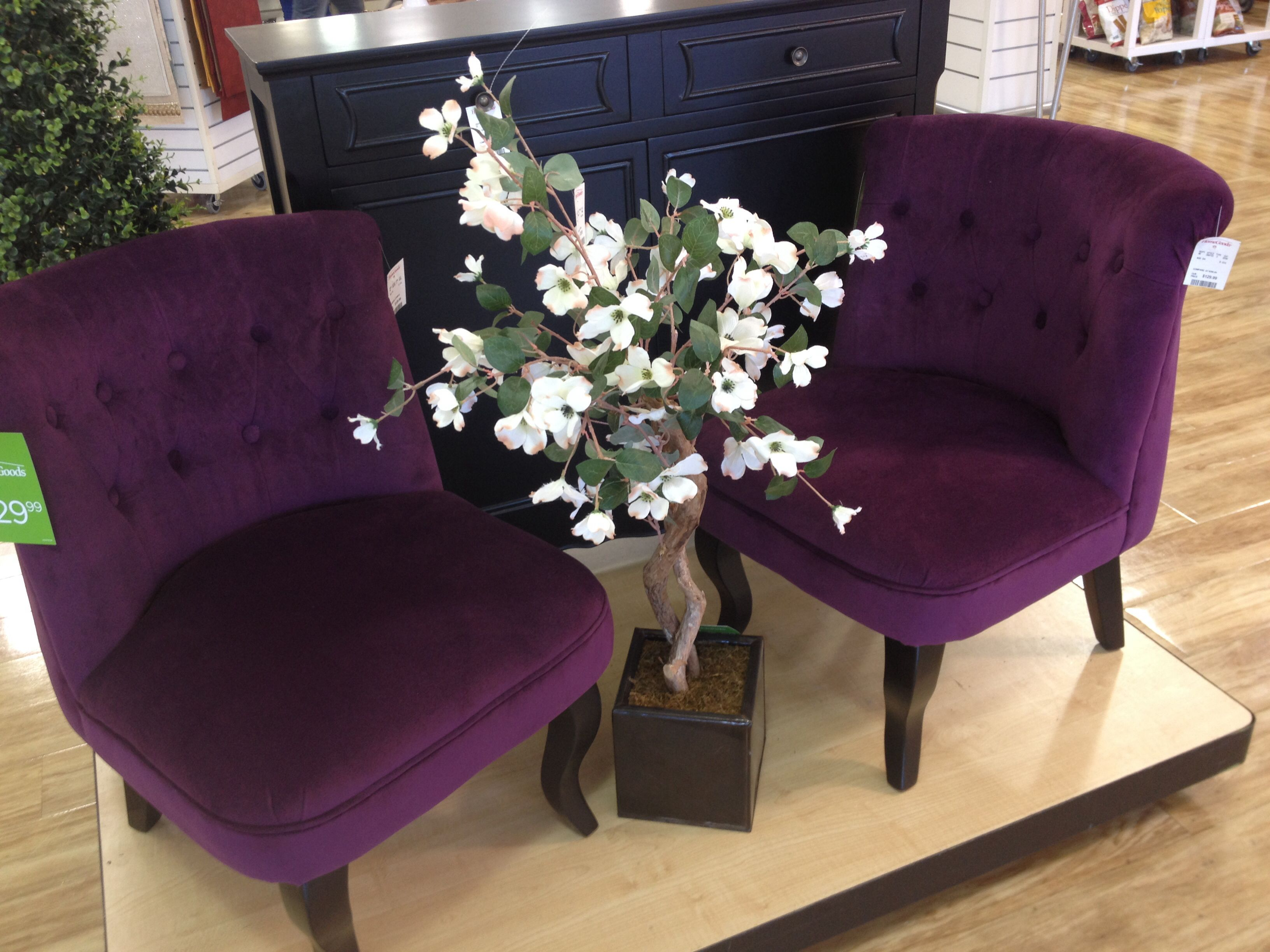 I need these purple chairs found at homegoods purple