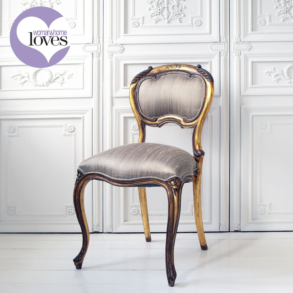 Palais de Versailles Baby Gold Chair  French chairs, French