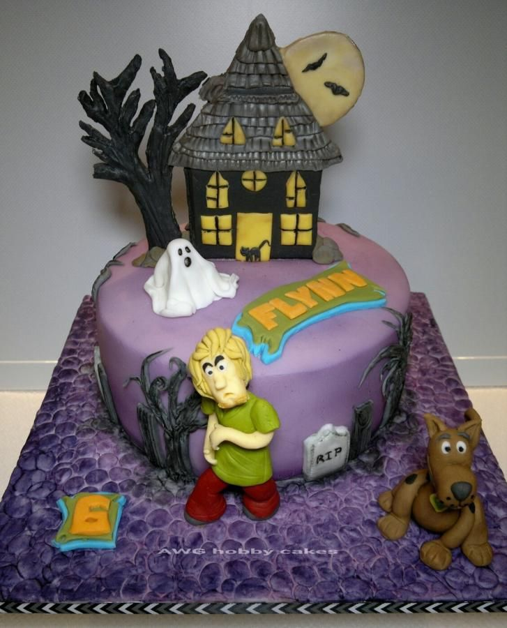 Scoobydoo for Flynn Cake by AWG Hobby Cakes Scooby doo