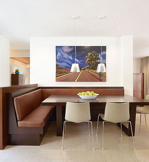 Chic Restaurant Tables And Chairs For The Modern Home Dining Room Nook Corner Dining Table Modern Dining Room