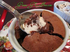Gimme Gluten Free: The Ultimate Chocolate Lava Cake