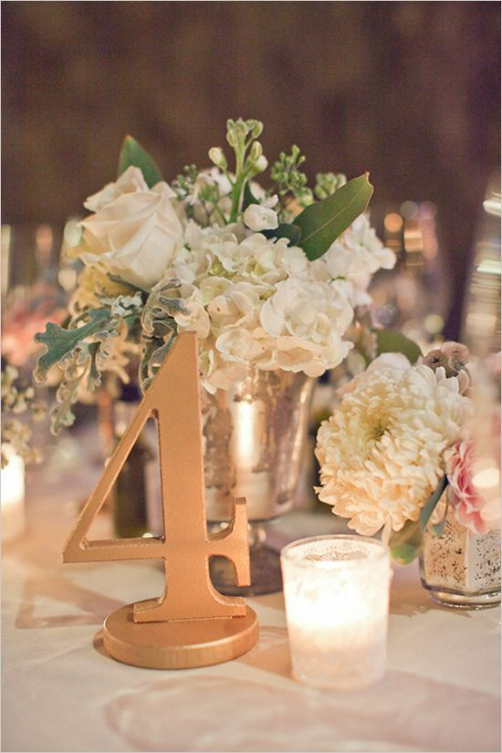 gorgeous wedding table number ideas