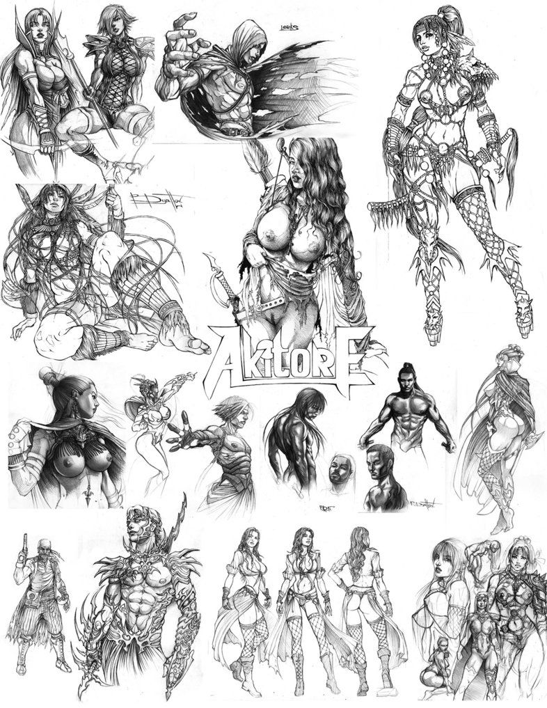 Old stuff by Boris-Dyatlov on DeviantArt | Line Art | Pinterest ...