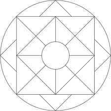 table top coloring pages | simple mandala coloring pages - Google Search | Simple ...