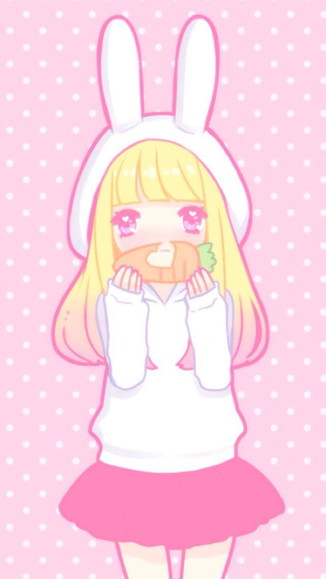 kawaii bunny girl cocoppa wallpaper ddlg pinterest wallpaper