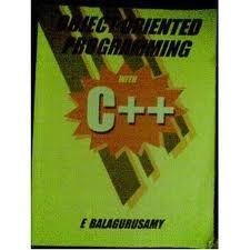 Object Oriented Programming C Balaguruswamy Pdf